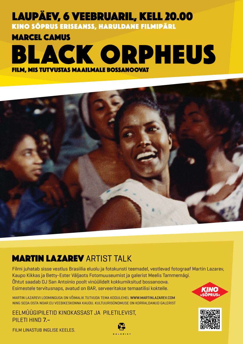 Black Orpheus / Martin Lazarev artist talk